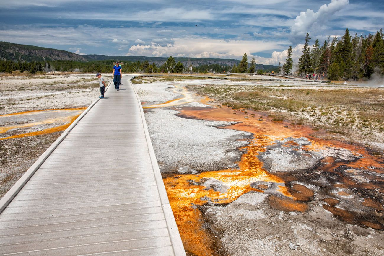 Upper Geyser Basin best things to do in Yellowstone