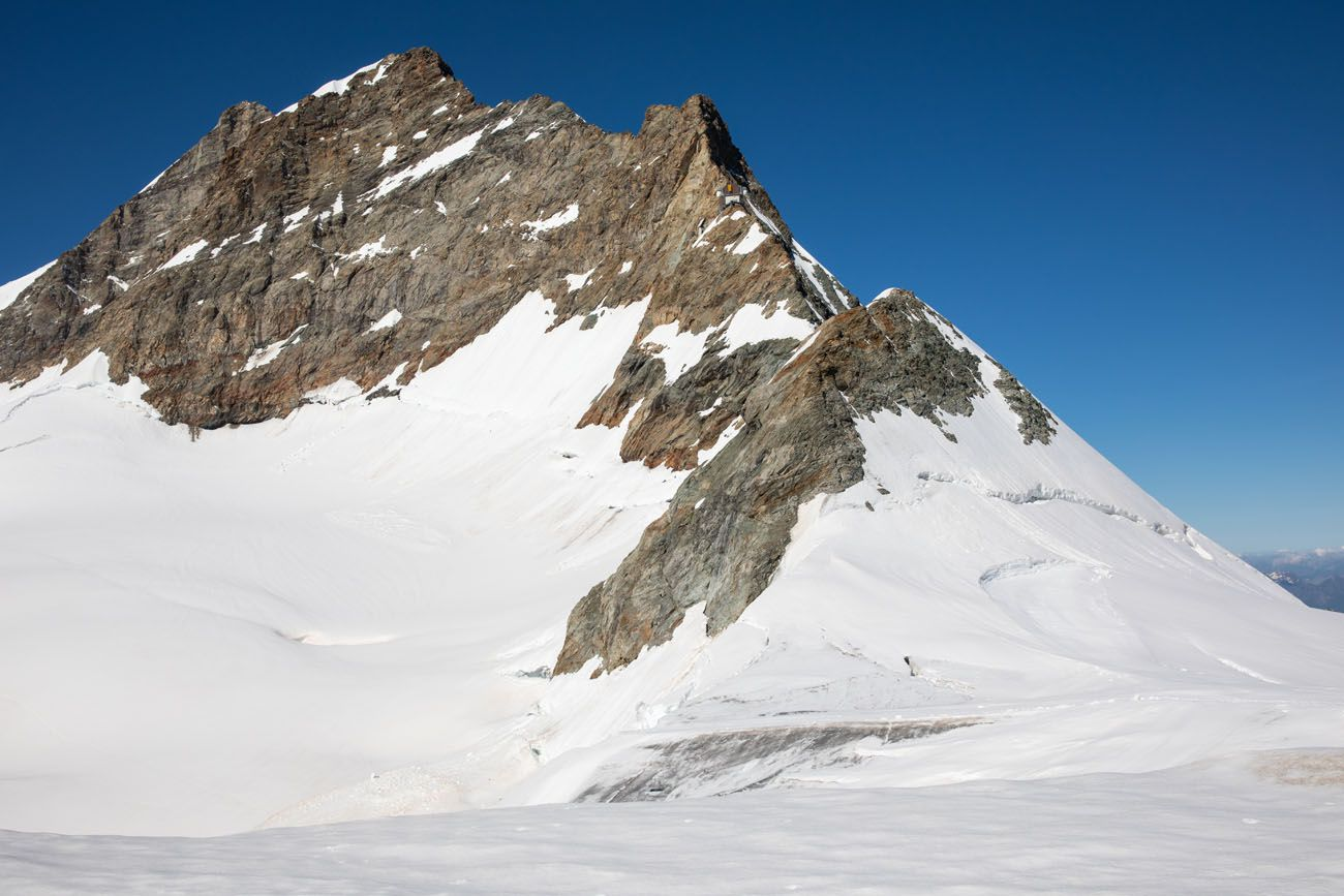 View of Jungfraujoch