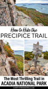 Acadia Precipice Trail Hike