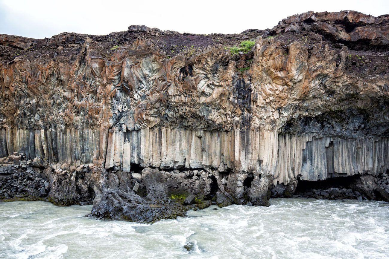 Aldeyjarfoss Basalt