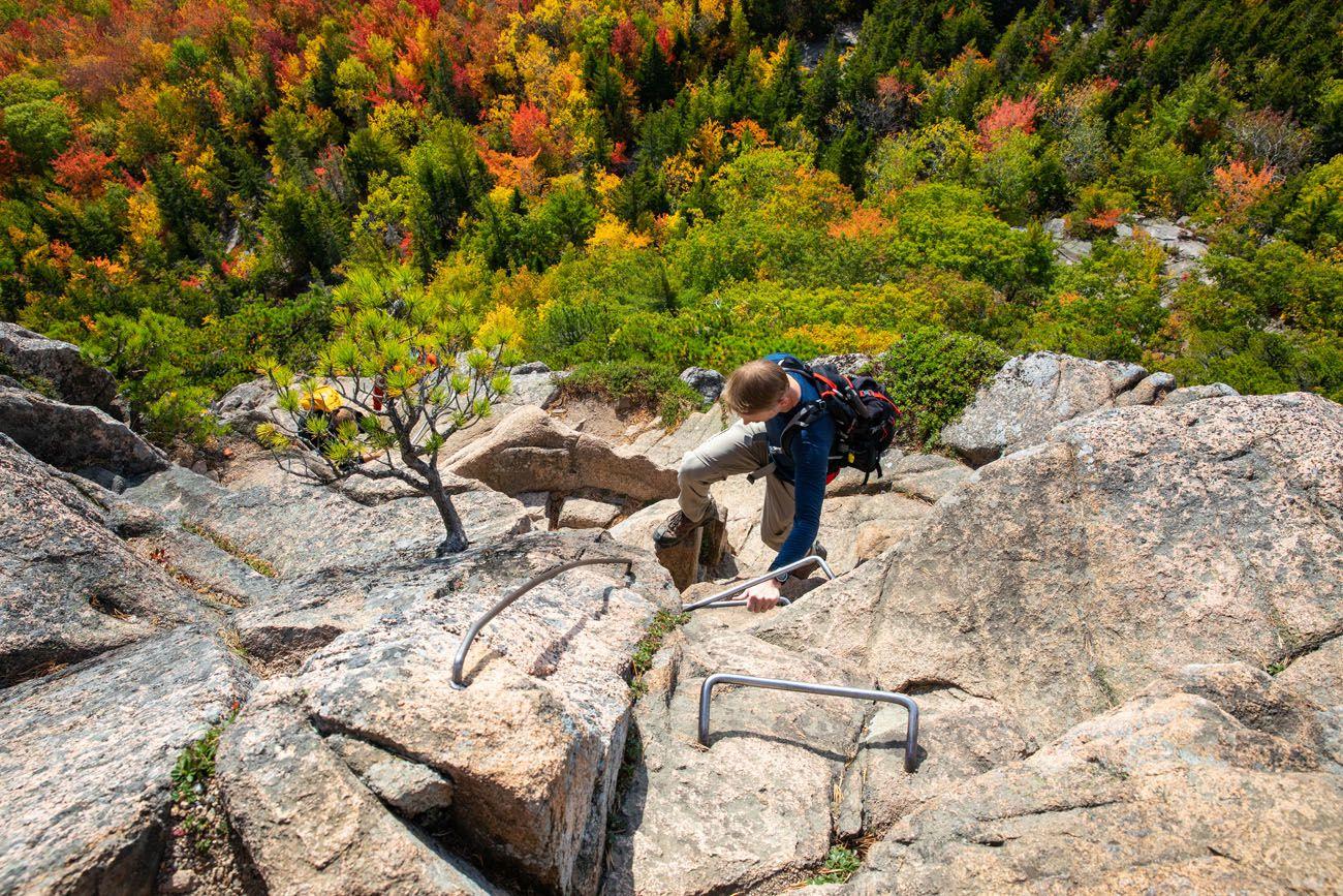 Beehive Trail Acadia Hike