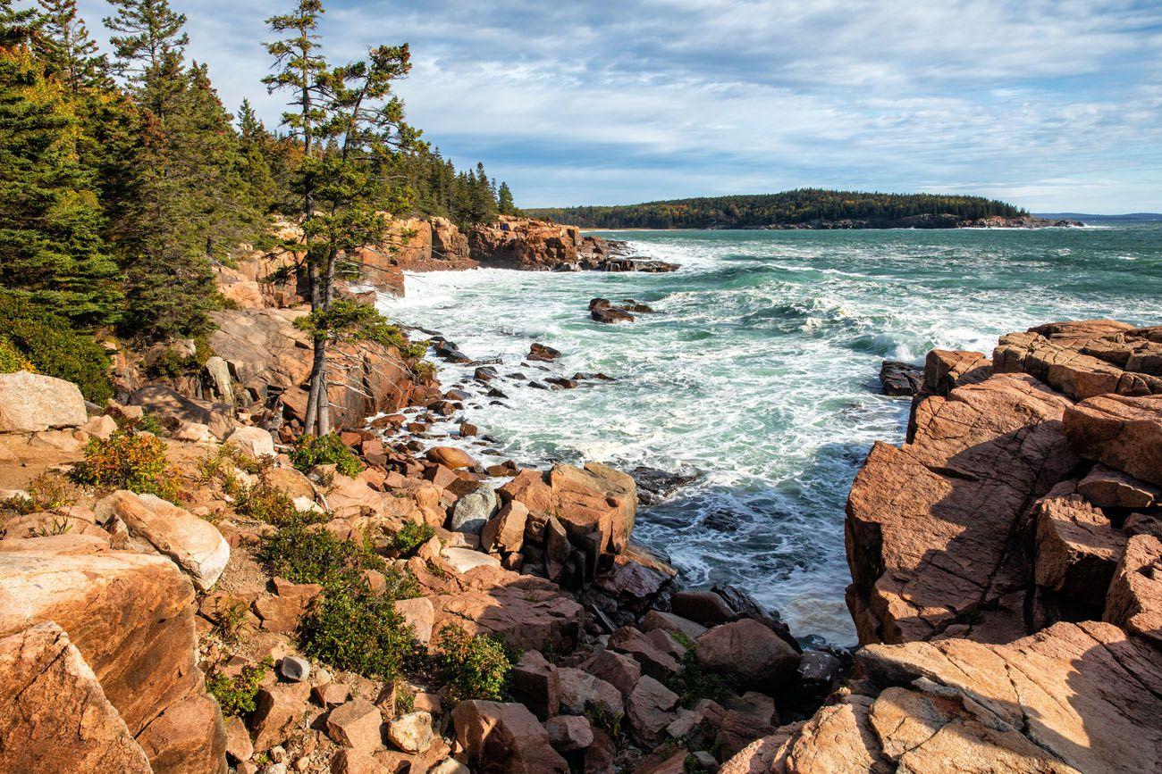 Best Hikes in Acadia Ocean Path
