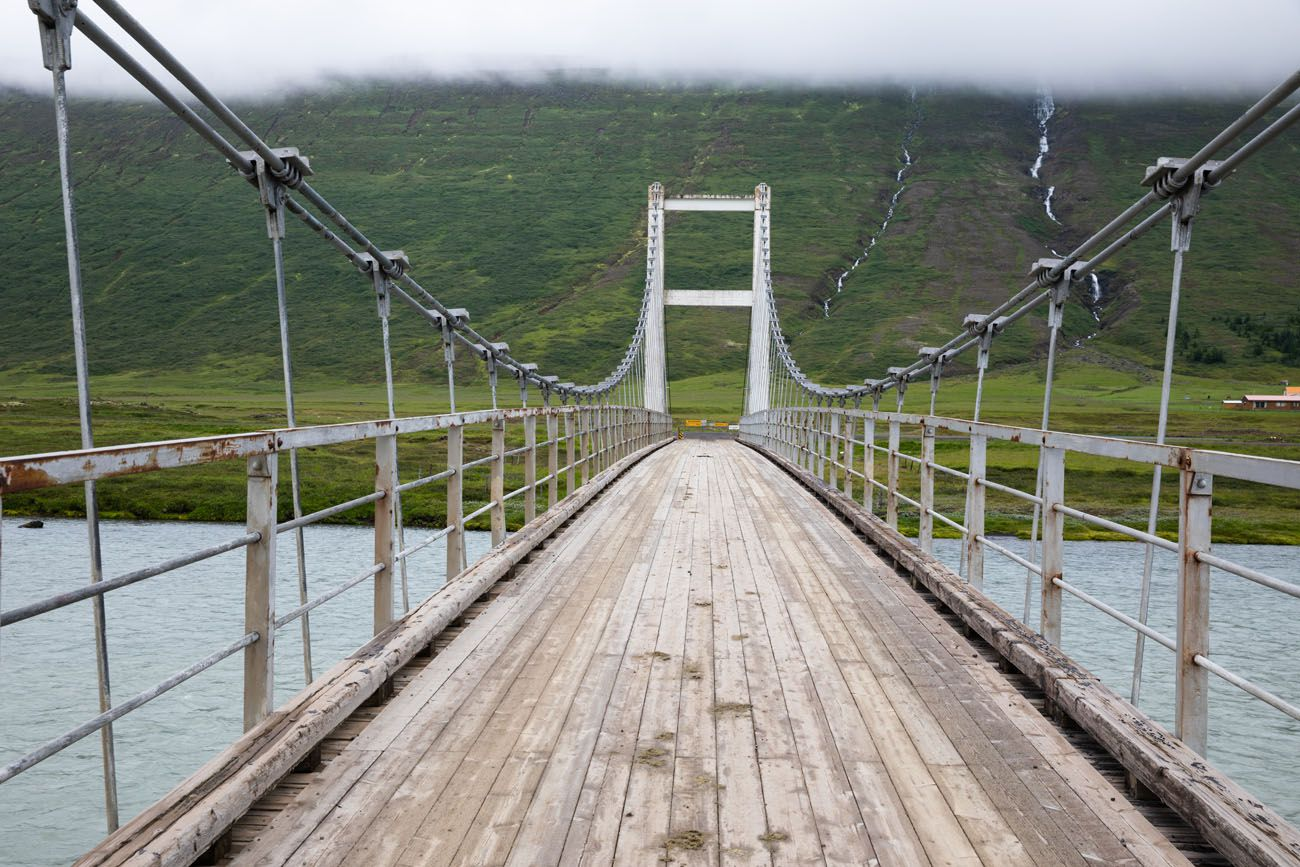 Bridge in Iceland