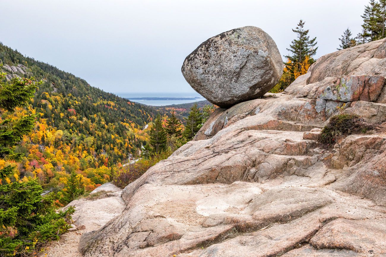Bubble Rock Acadia