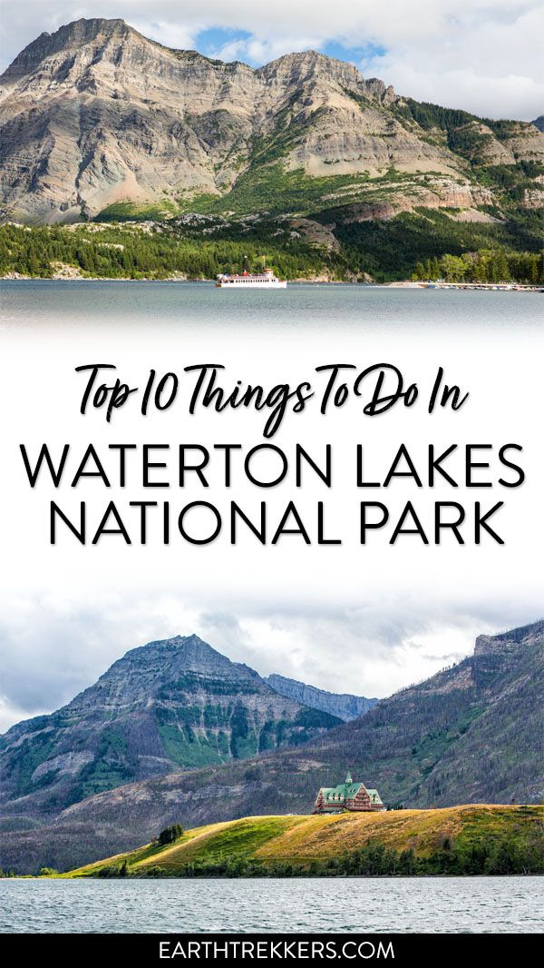 Canada Waterton Lakes National Park