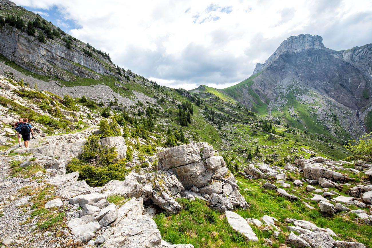 Hike Schynige Platte