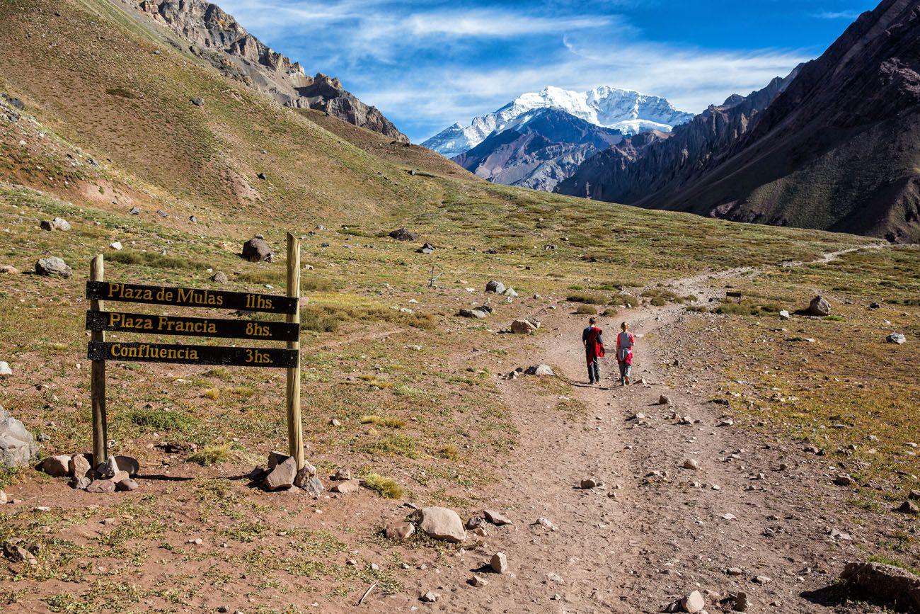 Hike to Aconcagua