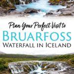 Iceland Bruarfoss Waterfall