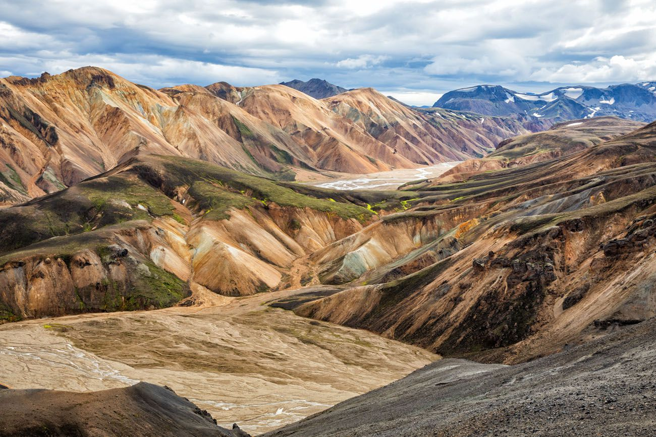 Iceland Itinerary with Landmannalaugar