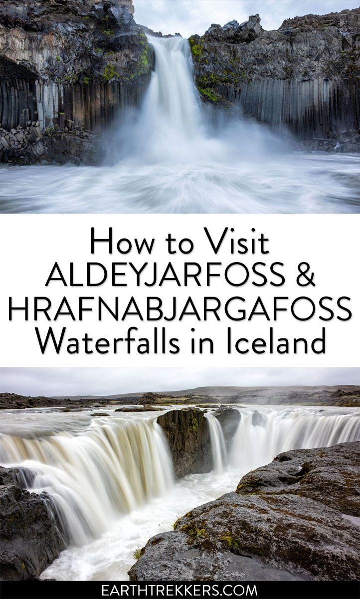 Iceland Waterfalls Aldeyjarfoss Hrafnabjargafoss