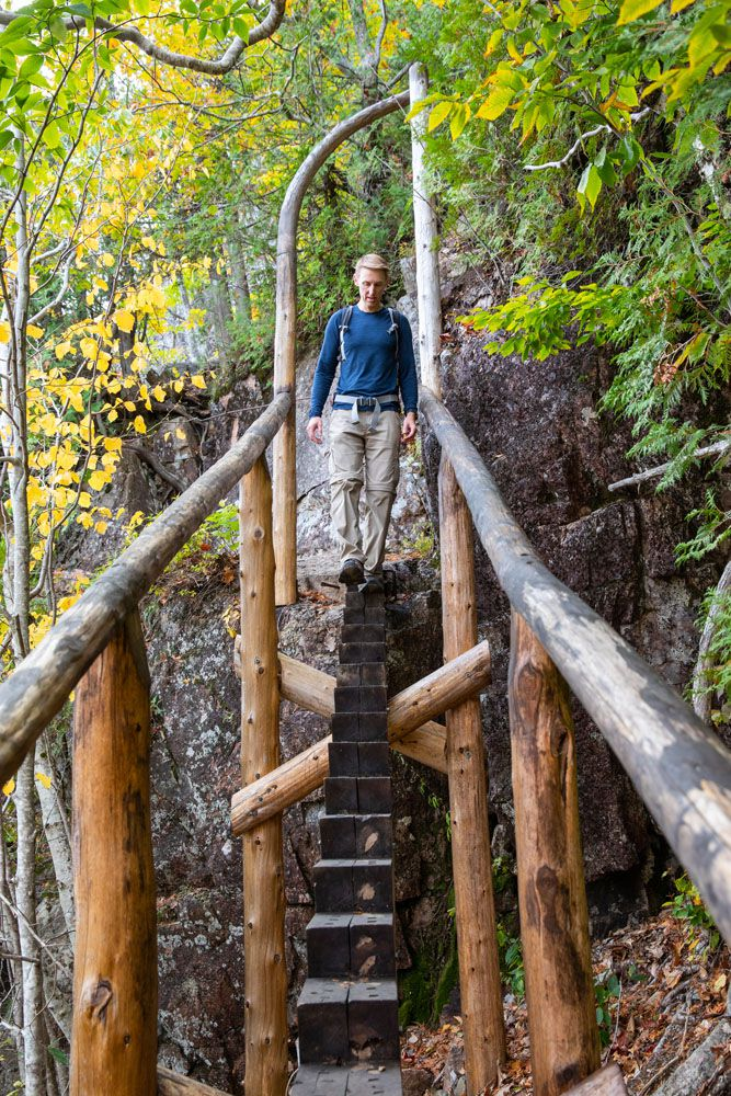 Jordan Cliffs Steps