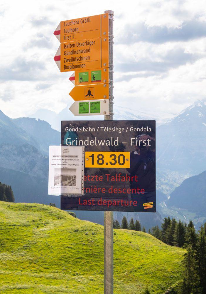 Last Gondola Sign