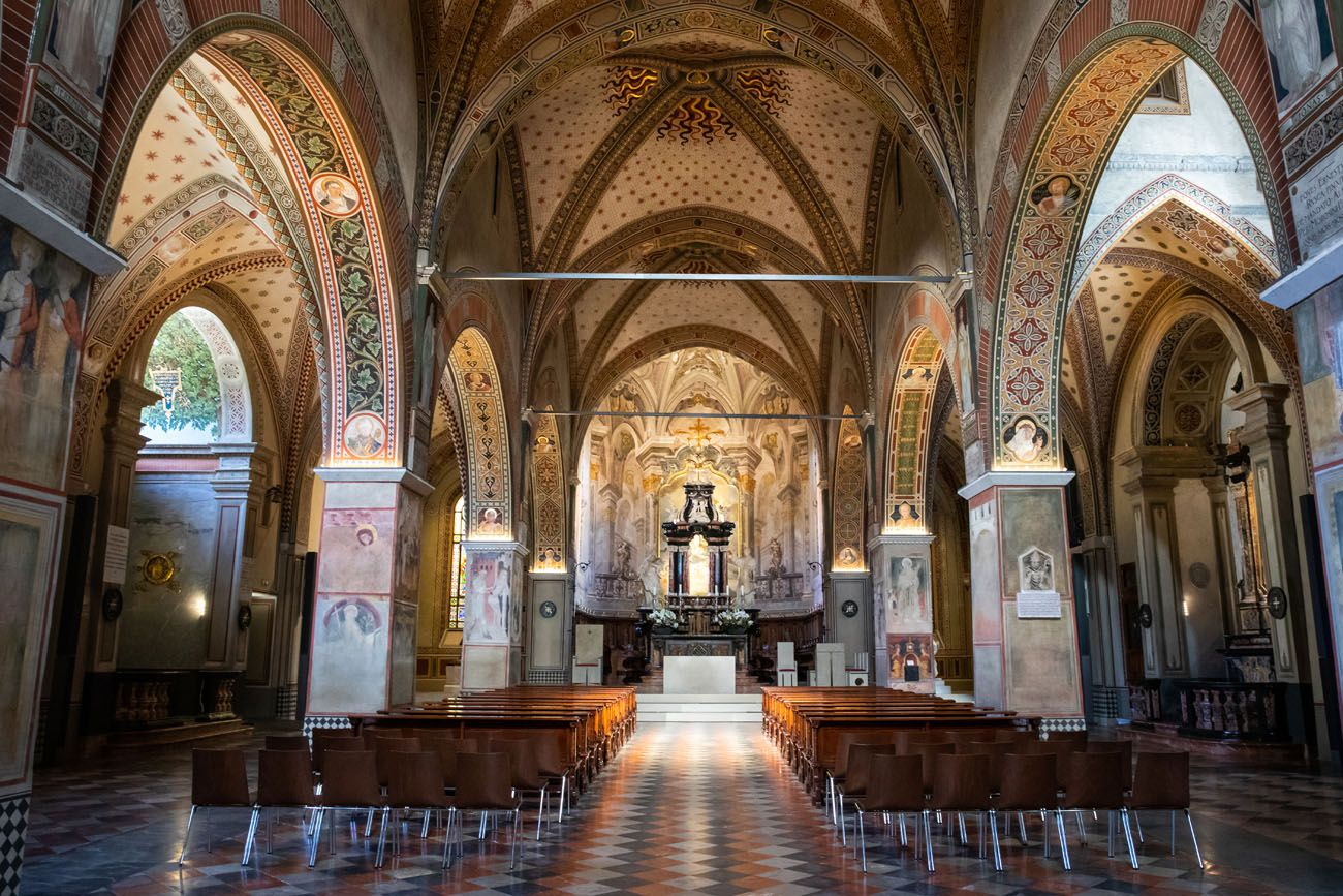 Lugano Cathdral Interior