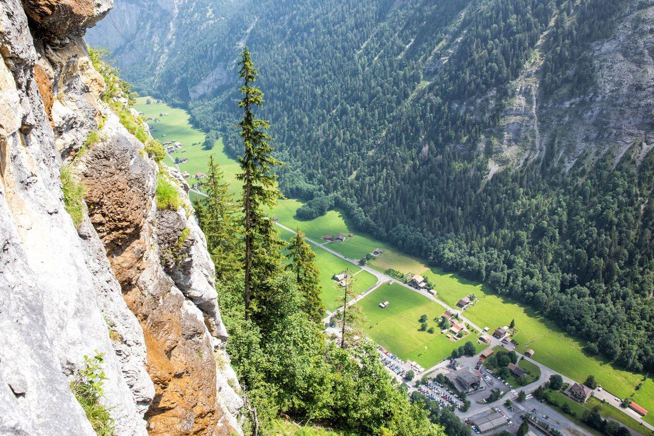 Murren Via Ferrata View