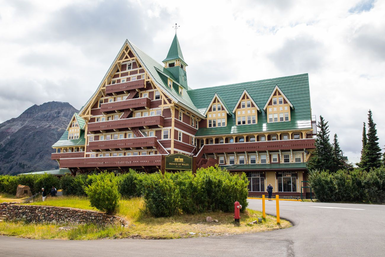 Prince of Wales Hotel Alberta