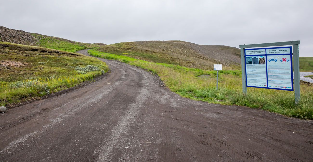 Road to Aldeyjarfoss
