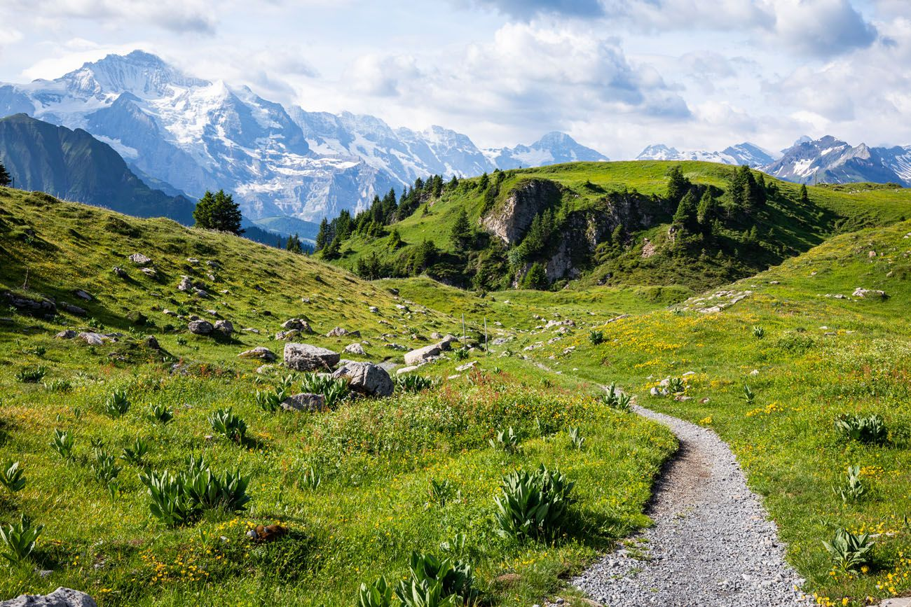 Switzerland Hiking Trail