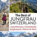 Switzerland Jungfrau Region Swiss Alps
