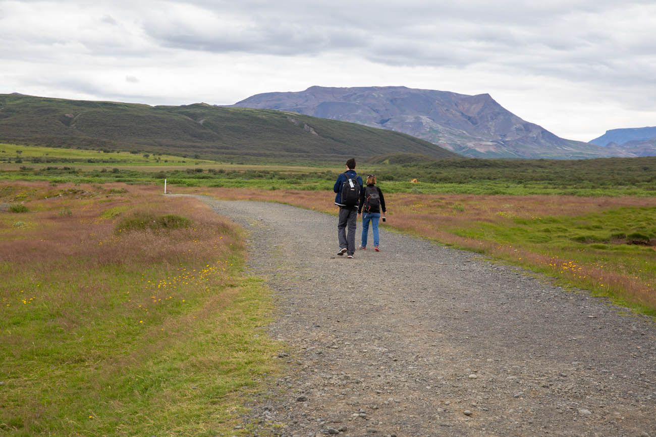 The Trail in Iceland