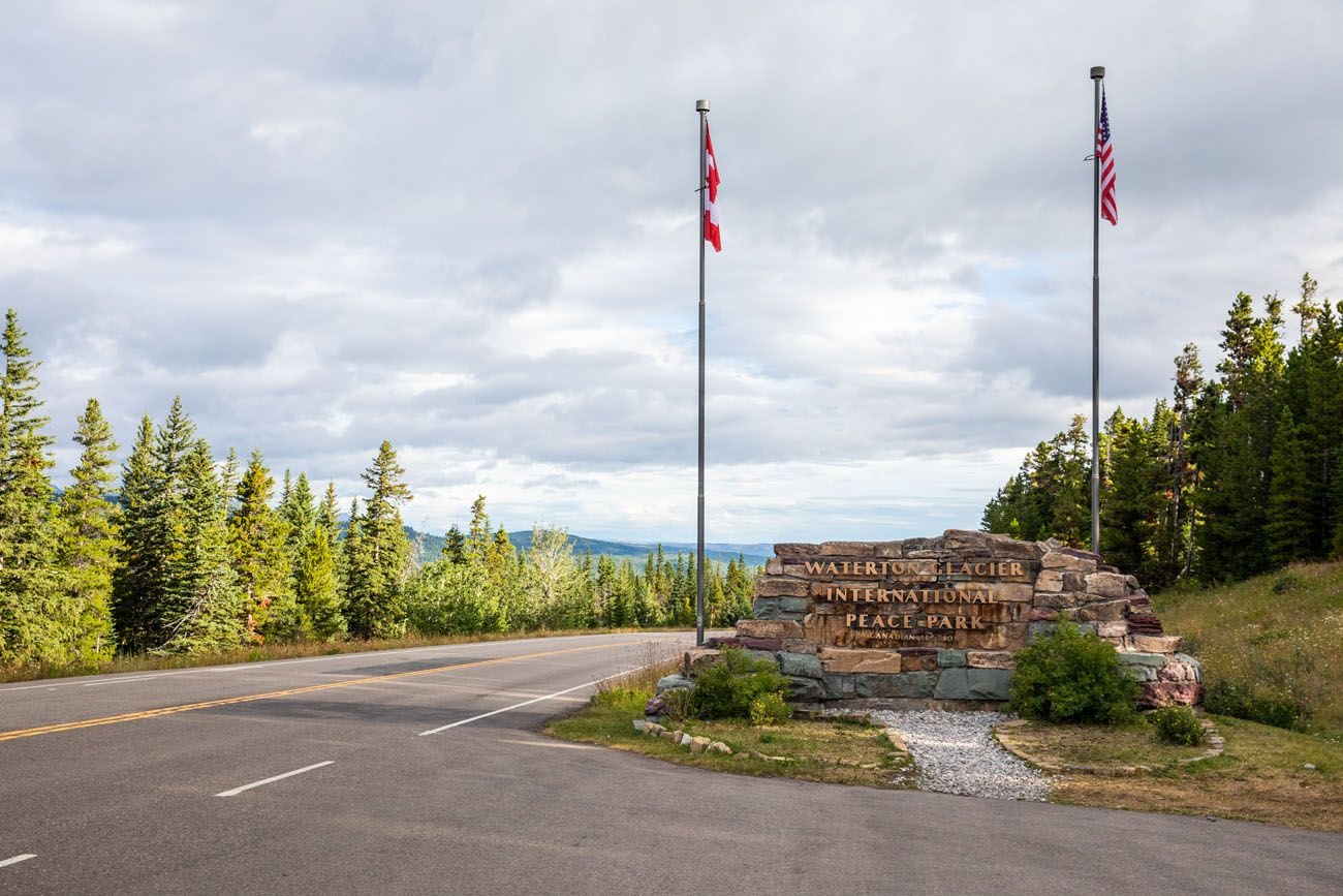 Waterton Lakes Glacier Peace Park