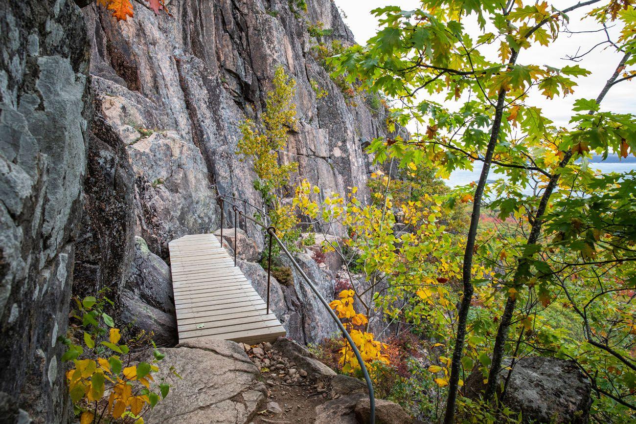 Wooden Bridge Precipice