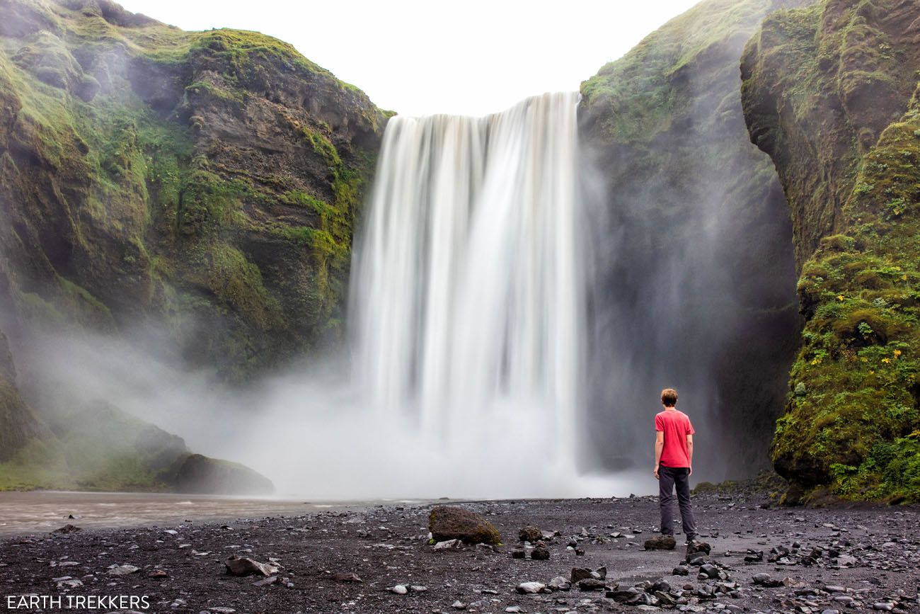 10 Day Ring Road Itinerary Skogafoss