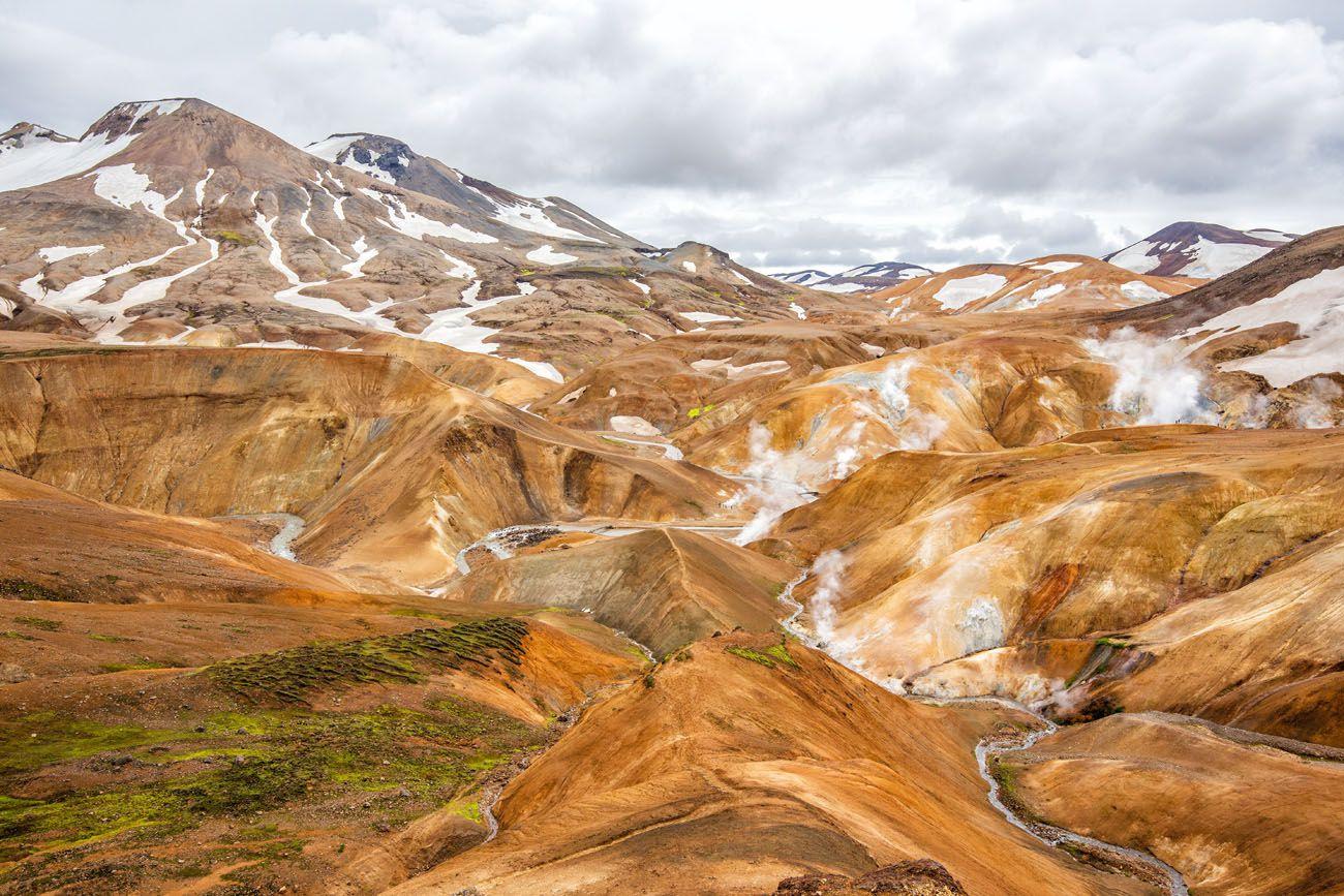 10 Days in Iceland Kerlingarfjoll