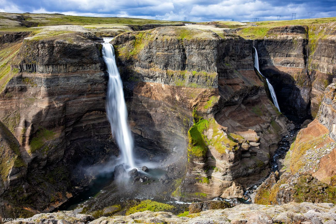 10 days in Iceland itinerary Haifoss