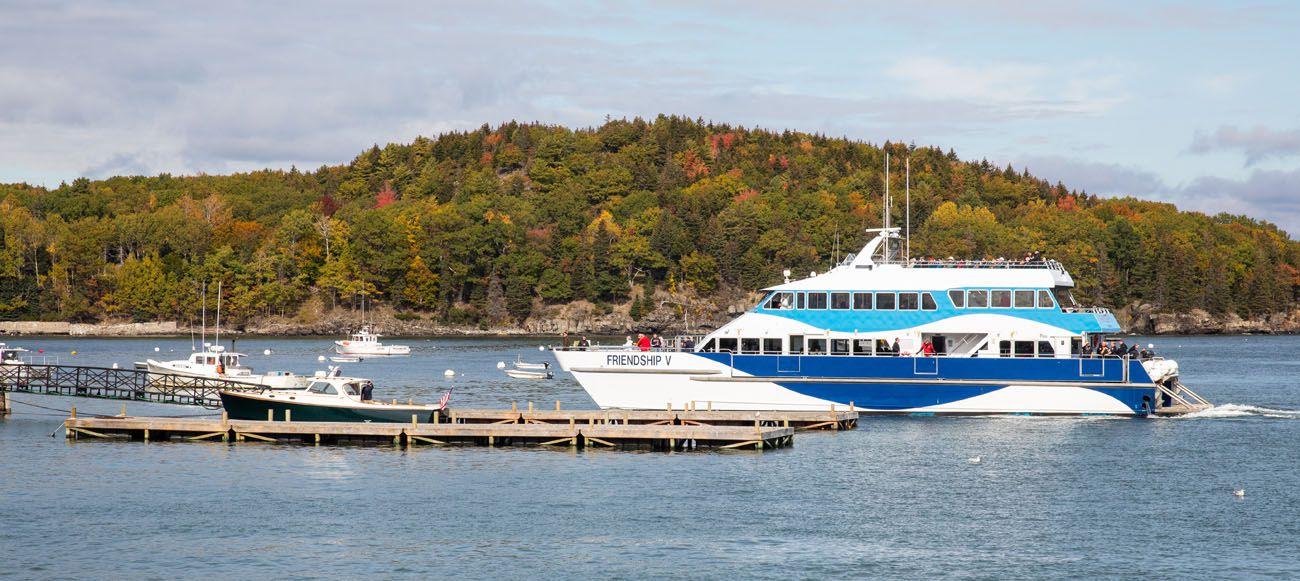 Acadia Boat Tour