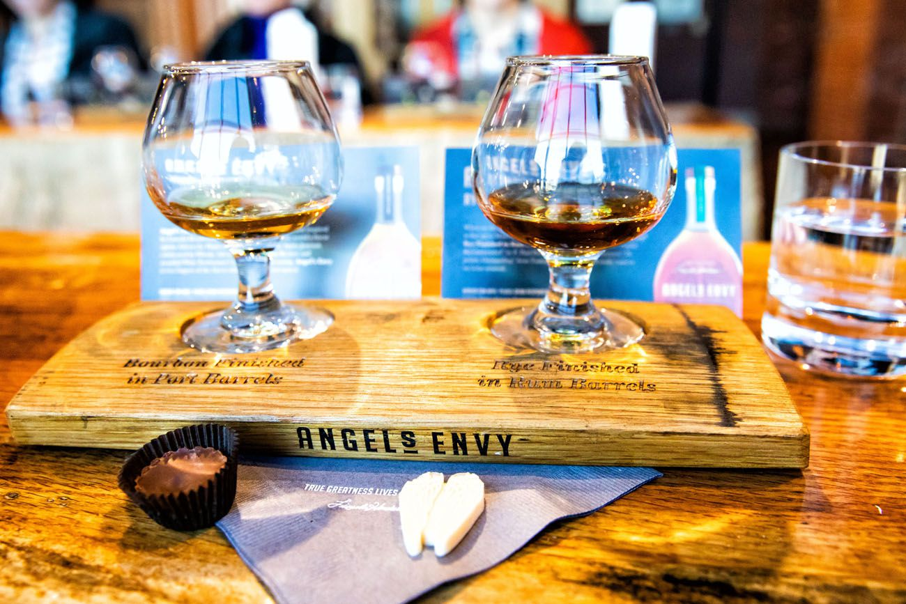 Angels Envy Kentucky Bourbon Trail