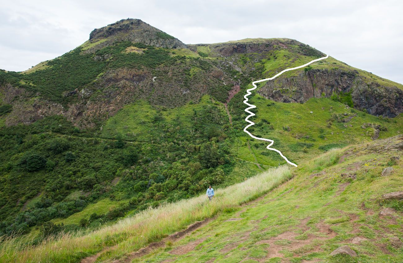 Arthurs Seat Red Route