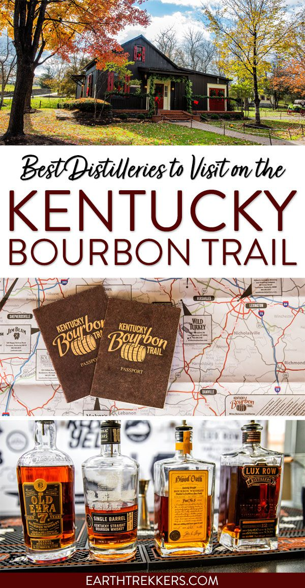 Best Distilleries to Visit Kentucky Bourbon Trail