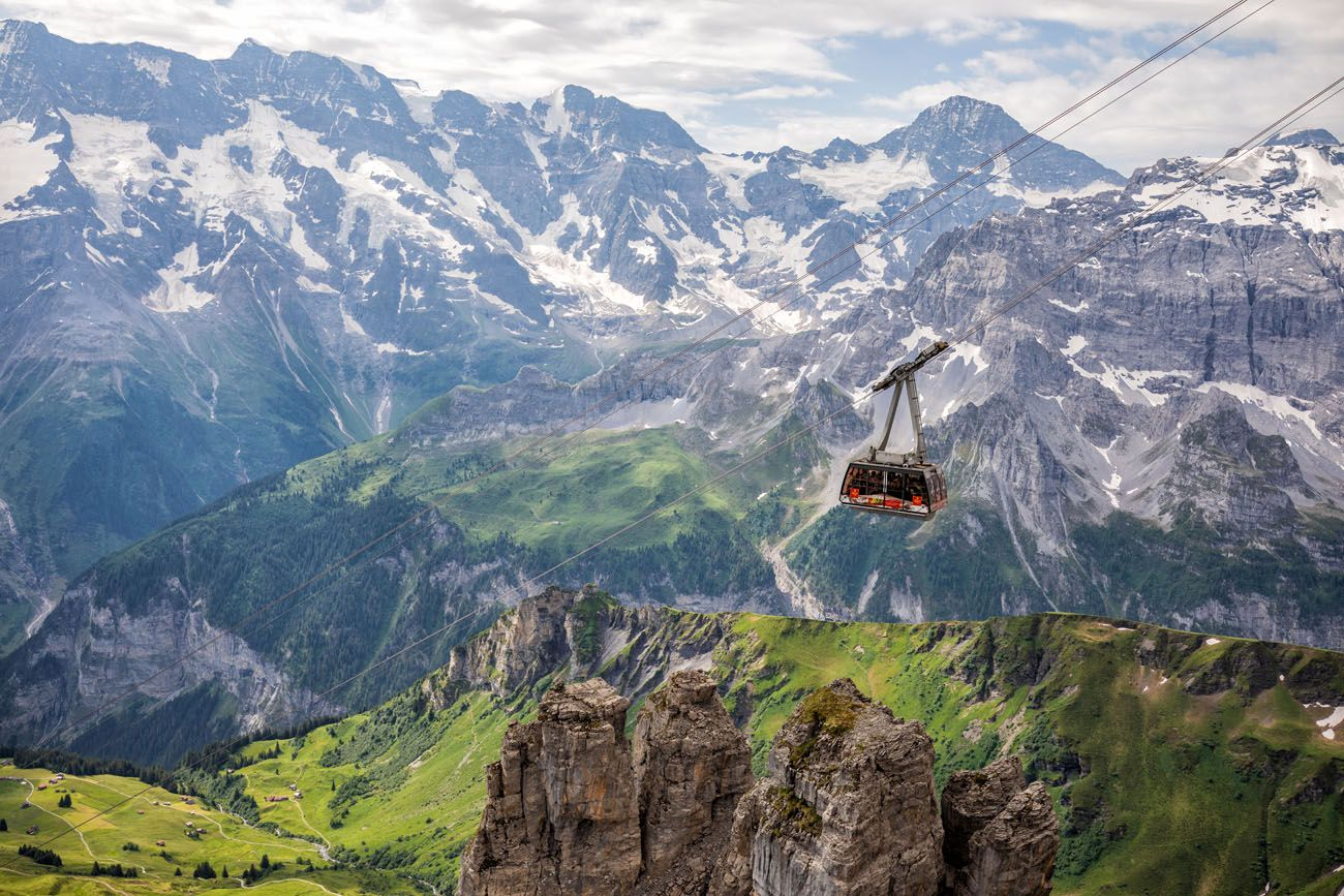 Cable Car Schilthorn