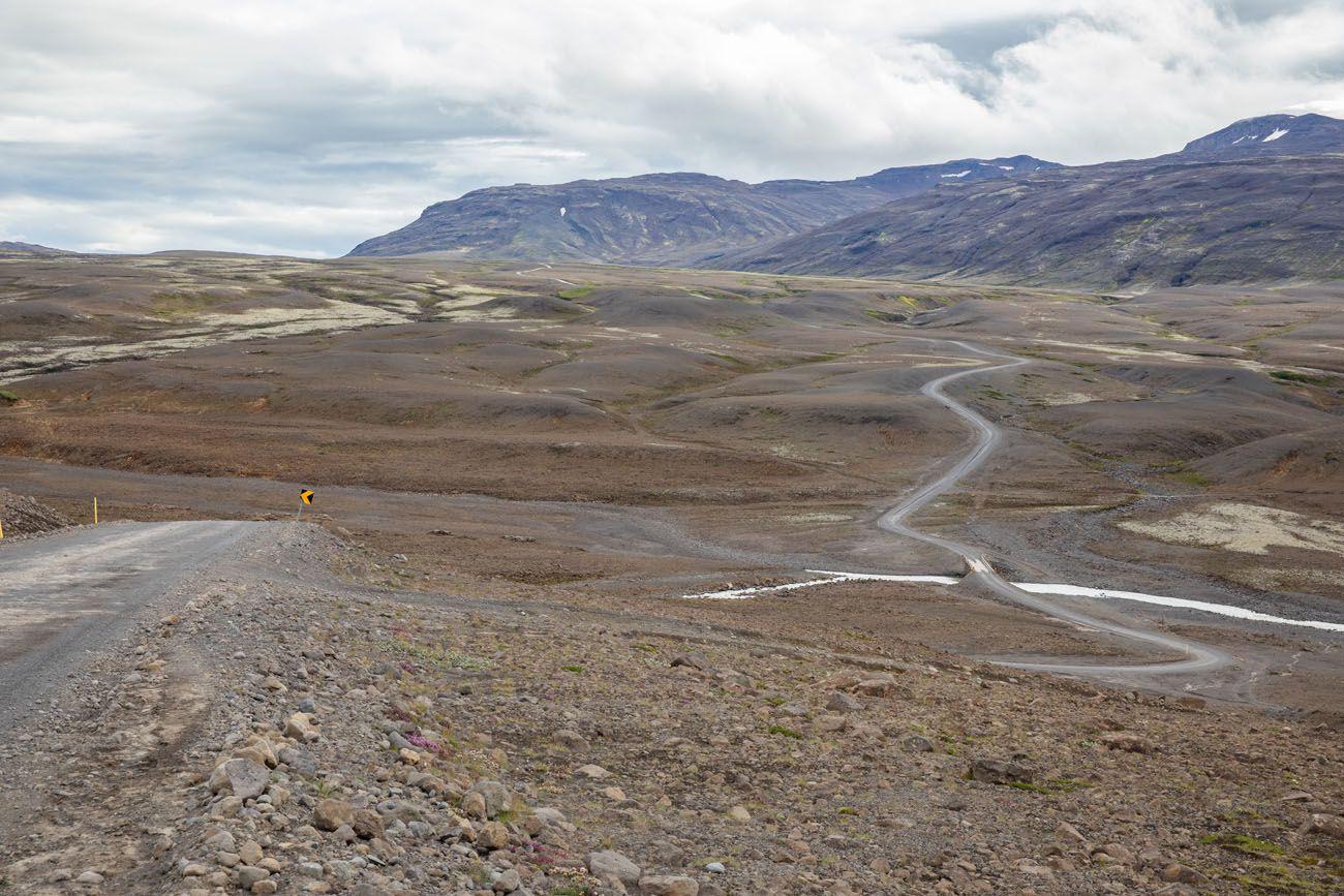 F Road Iceland