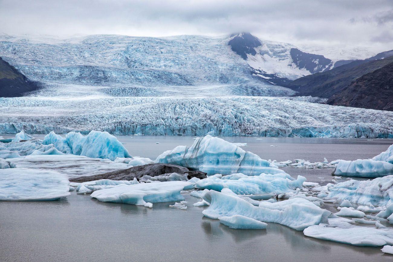 Fjallsarlon 10 Days in Iceland