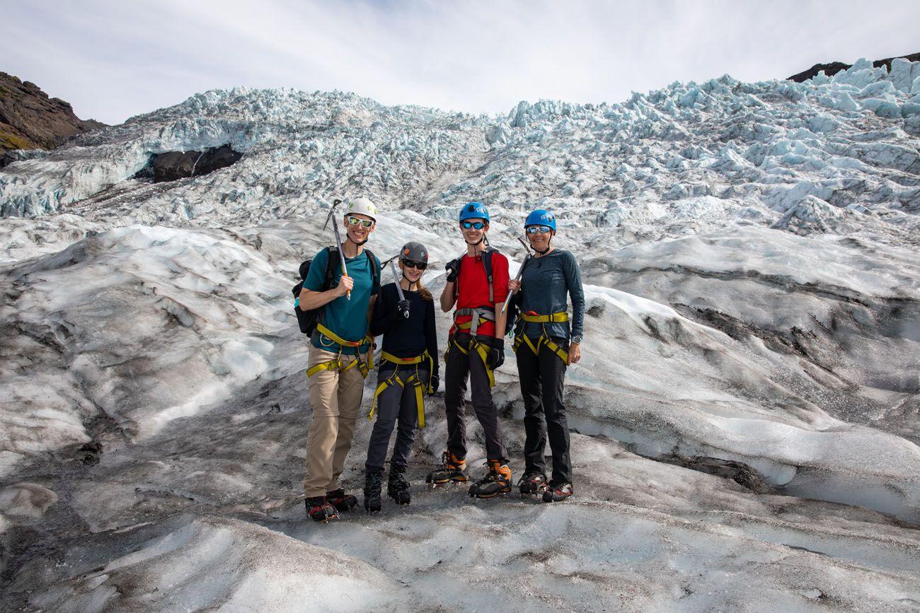 Glacier Walk Iceland Itinerary