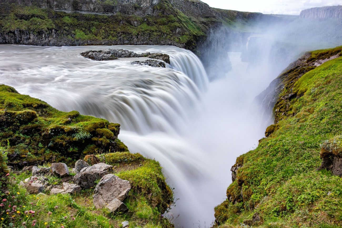 Gullfoss 10 days in Iceland itinerary