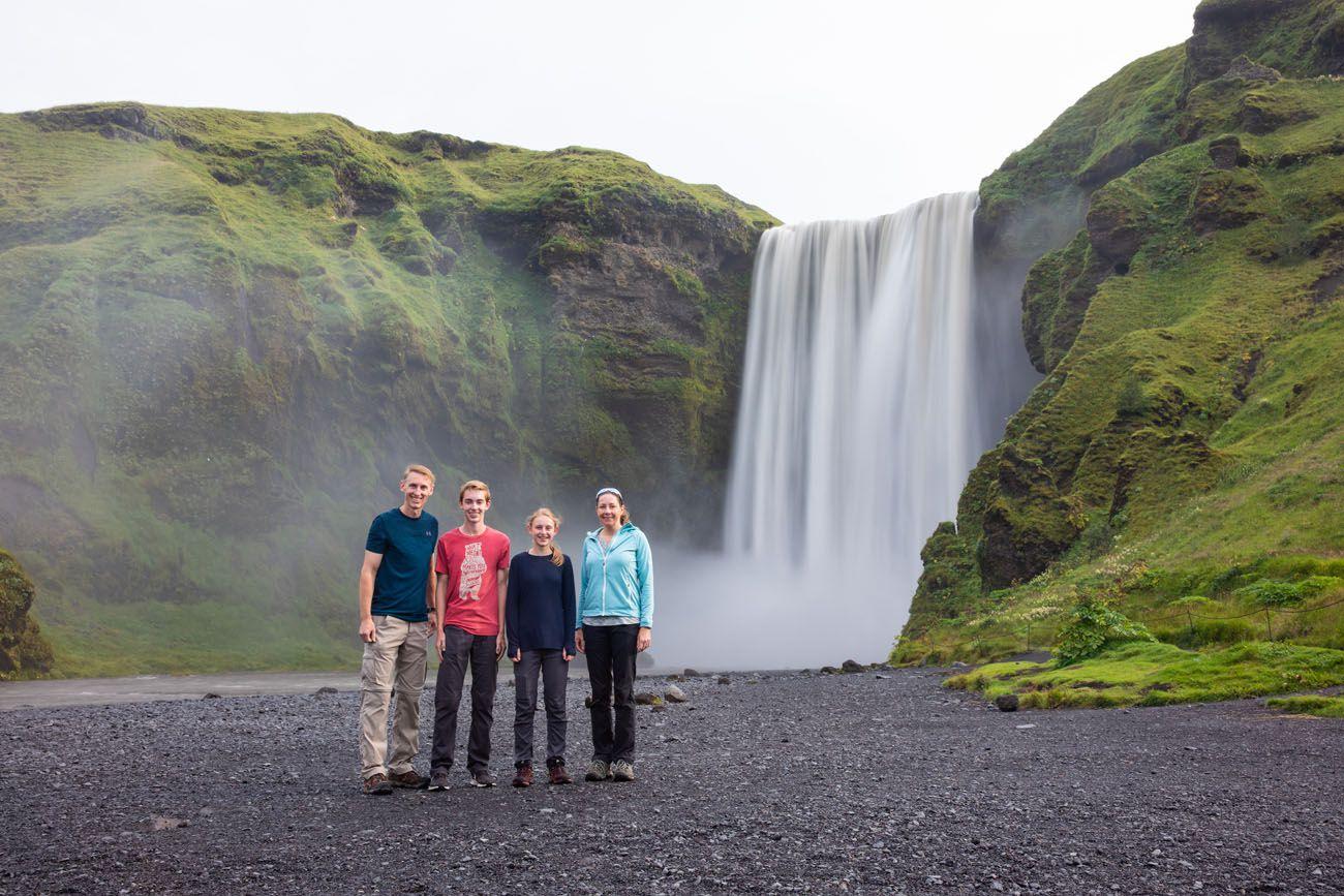 Iceland Itinerary Skogafoss