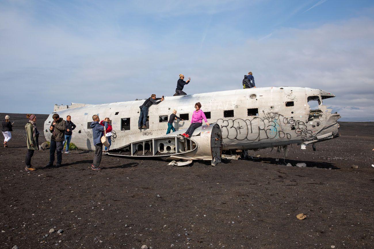 Iceland Plane Wreck