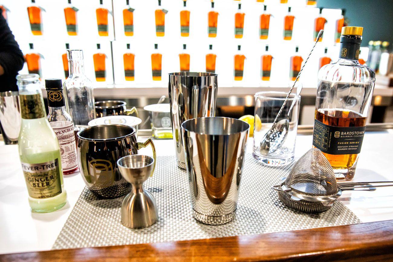 Kentucky Bourbon Trail Cocktail Class