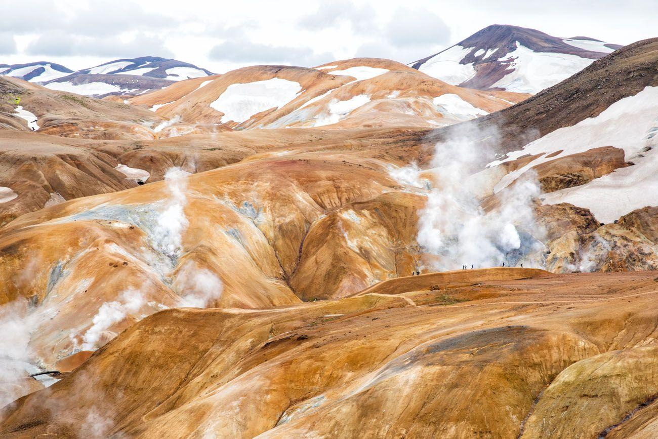 Kerlingarfjoll Iceland Itinerary