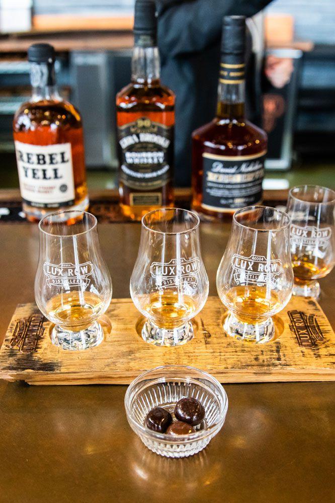 Lux Row Bourbon Tasting