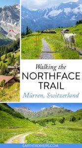 Murren Switzerland Northface Trail