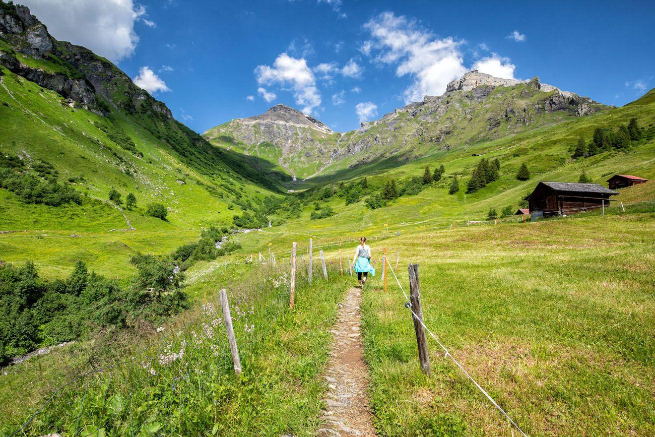 Northface Trail Switzerland