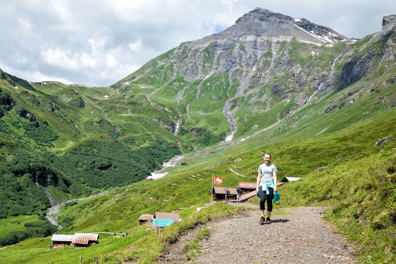 Northface Trail and Schilthorn