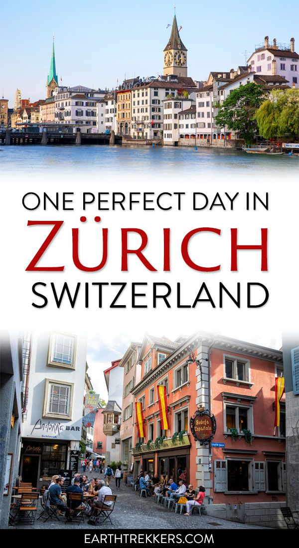 One Day in Zurich Switzerland Travel Guide