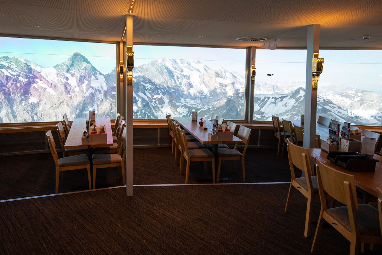 Piz Gloria Restaurant