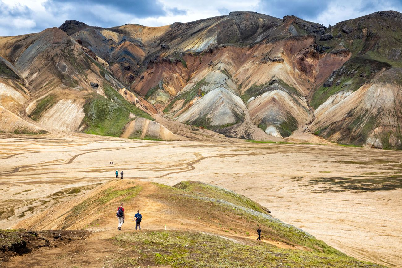 Ring Road Itinerary Landmannalaugar