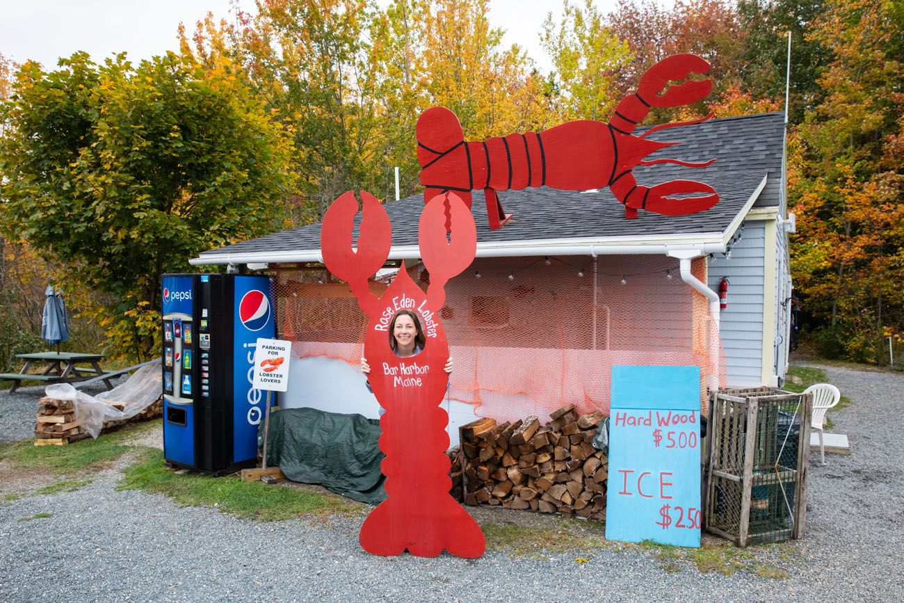 Rose Eden Lobsters Acadia