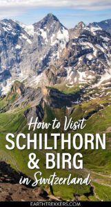 Schiltorn and Birg Switzerland